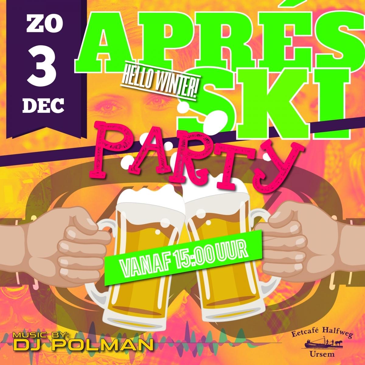 zondag 3 december 2017 - apreski party