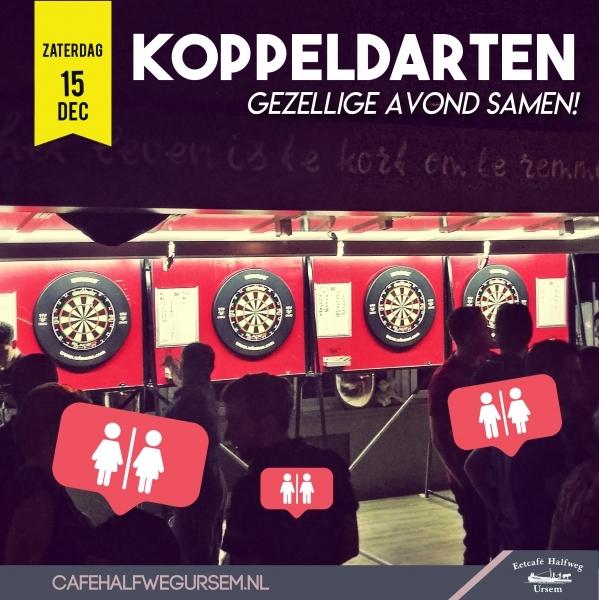 koppel darten 2018 in Ursem bij Cafe Halfweg
