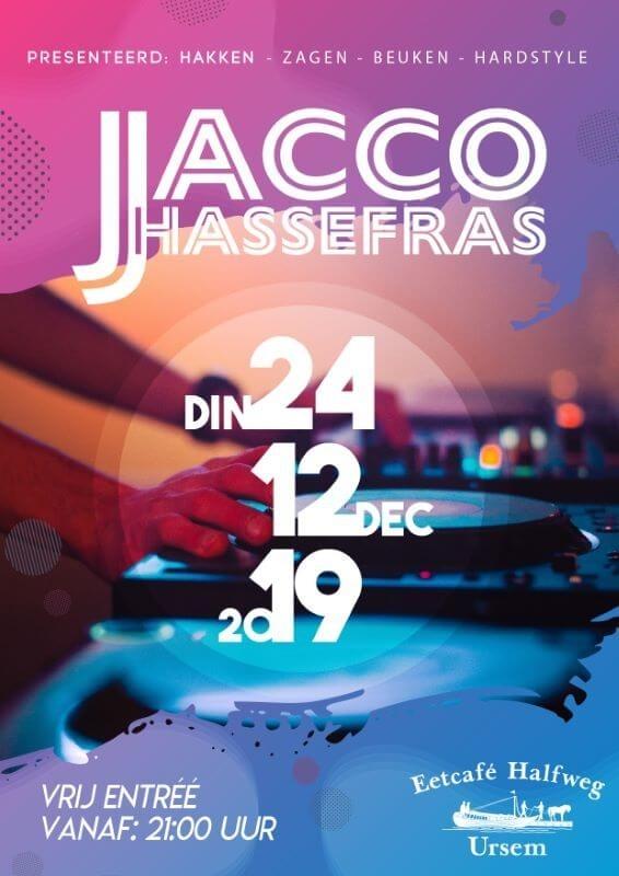 Jacco HAssefras Hardstyle Dj in Ursem